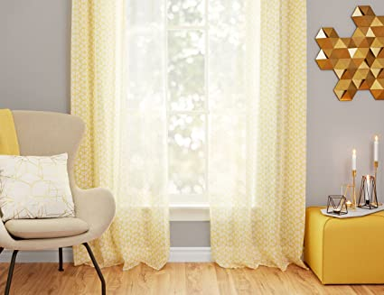 Amazon Structube Set Of Window Curtains For Living Room Dining