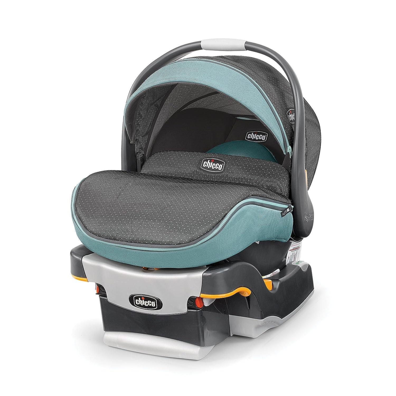 B075GSH89T Chicco Key Fit 30 Zip Infant Car Seat, Serene 91ukG3doz8L