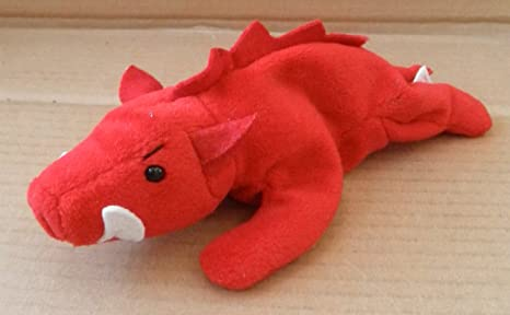 733863f817ae4c Image Unavailable. Image not available for. Color: TY Beanie Babies Grunt  the Razorback Stuffed Animal ...