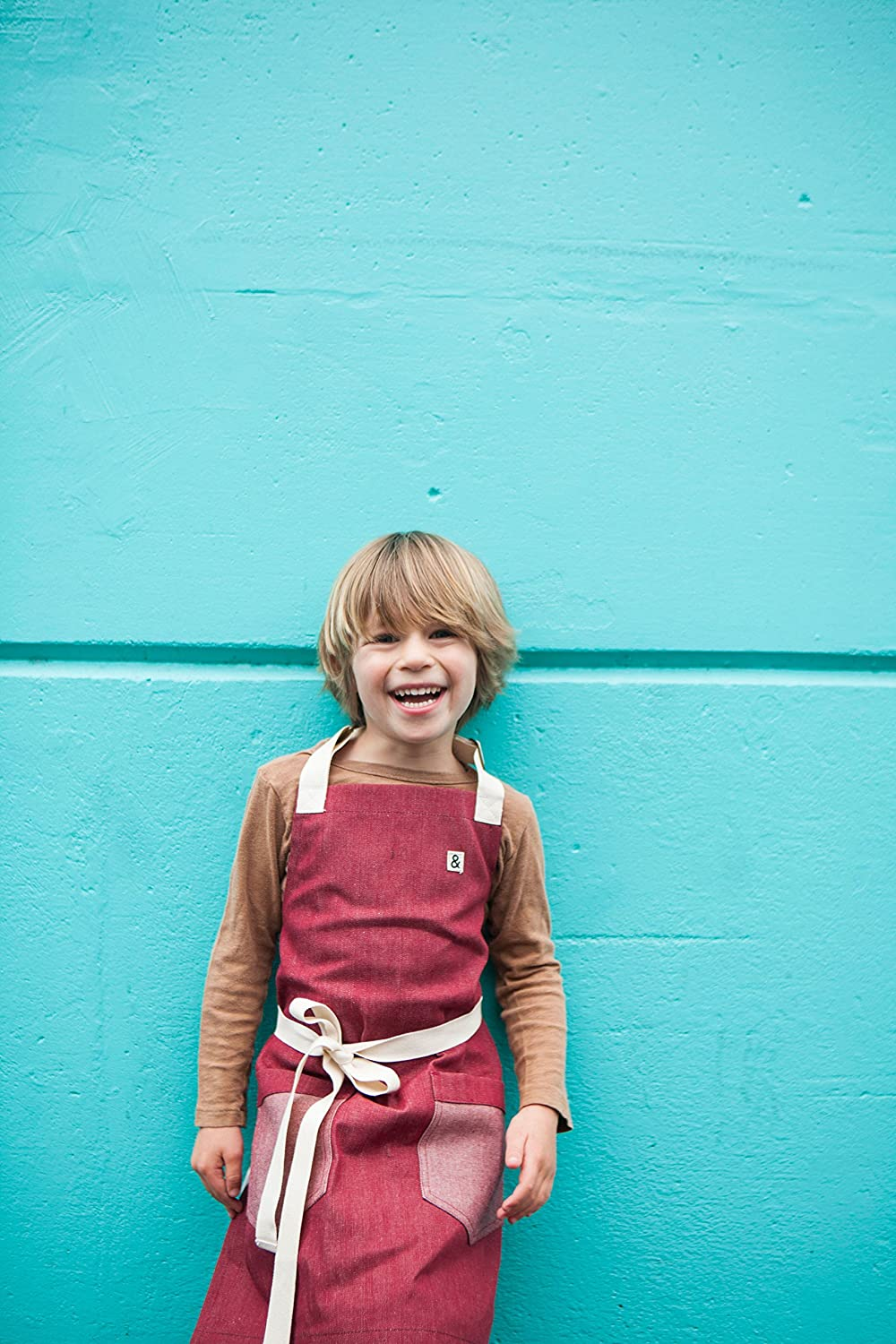 Hedley /& Bennett RED Kids Apron PRODUCT
