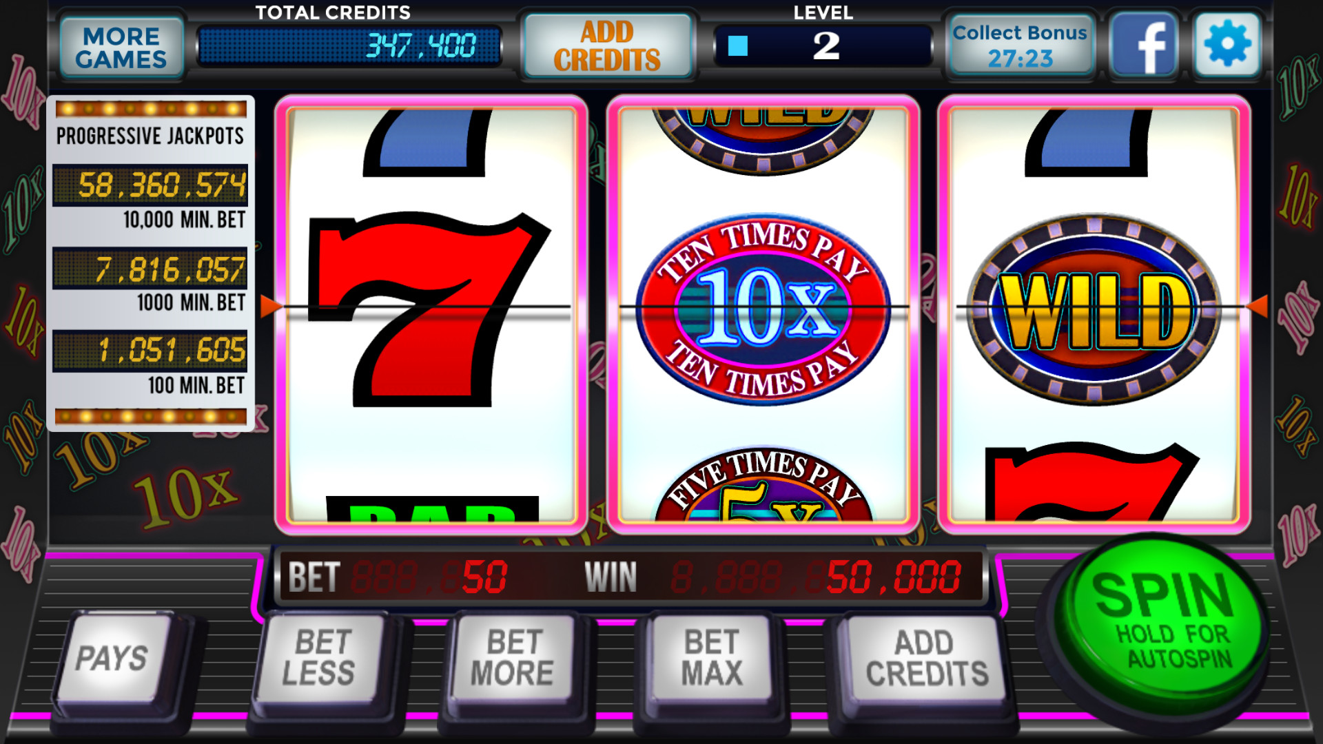 Amazon.com: Slots Vegas Casino - Play Free Real Classic ...