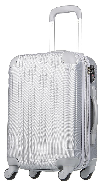 【レジェンドウォーカー】LEGEND WALKER スーツケース 容量拡張 TSAロック 超軽量 マット加工 ファスナー開閉 5082 B01MQFCS47 Lサイズ(7泊以上/88(拡張時102)L)|シルバー シルバー Lサイズ(7泊以上/88(拡張時102)L)
