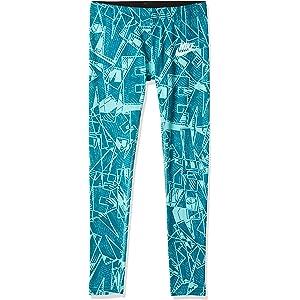f07cbc39ebccf Amazon.com: Nike Little Girls' Graphic-Print Athletic Pants (4 ...