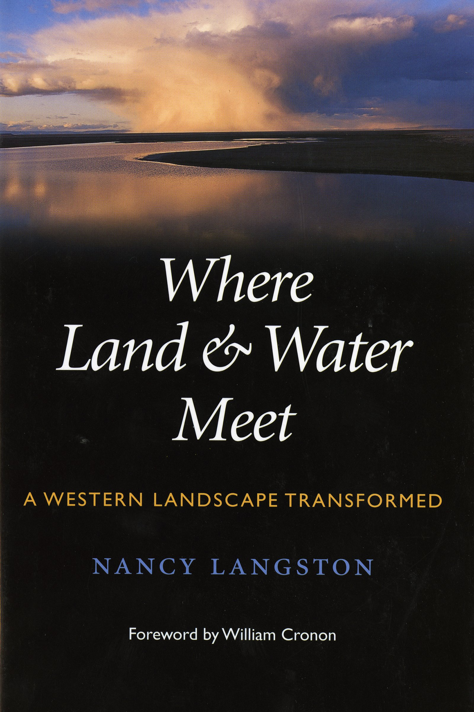 Where Land and Water Meet: A Western Landscape Transformed (Weyerhaeuser Environmental Books) pdf