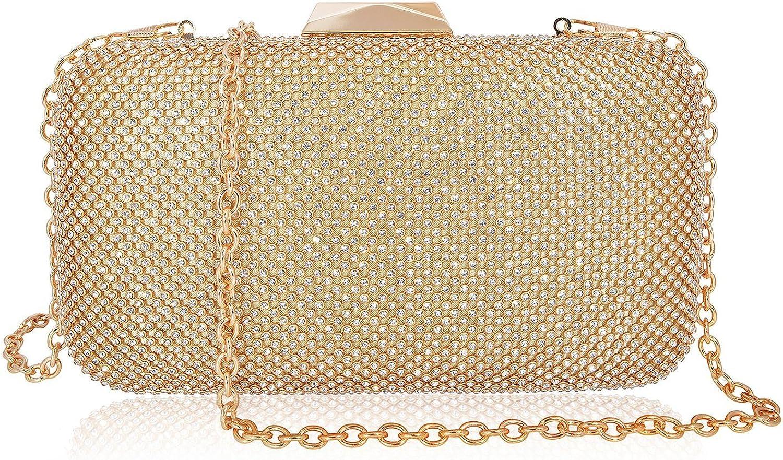 Crystal Clutch Women Box Rhinestone Evening Bag