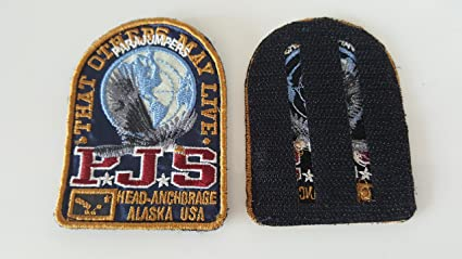 Parajumpers PJS Jacket Patch Patches Blue