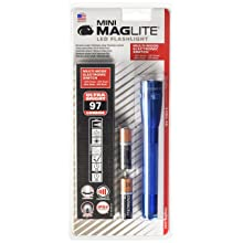 Maglite Mini LED 2-Cell AA Flashlight with Holster