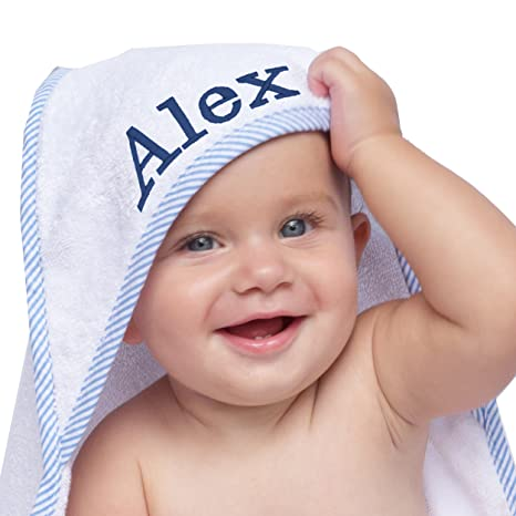 a4207b321 Buy Personalized Baby Hooded Bath Towel - Monogrammed Girl and boy ...