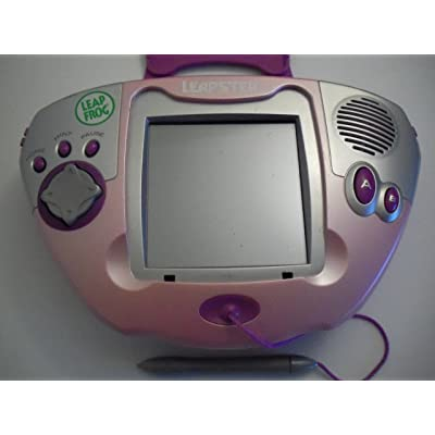 Leap Frog Original Large Screen Pink Leapster System with Games Pre-loaded: Toys & Games