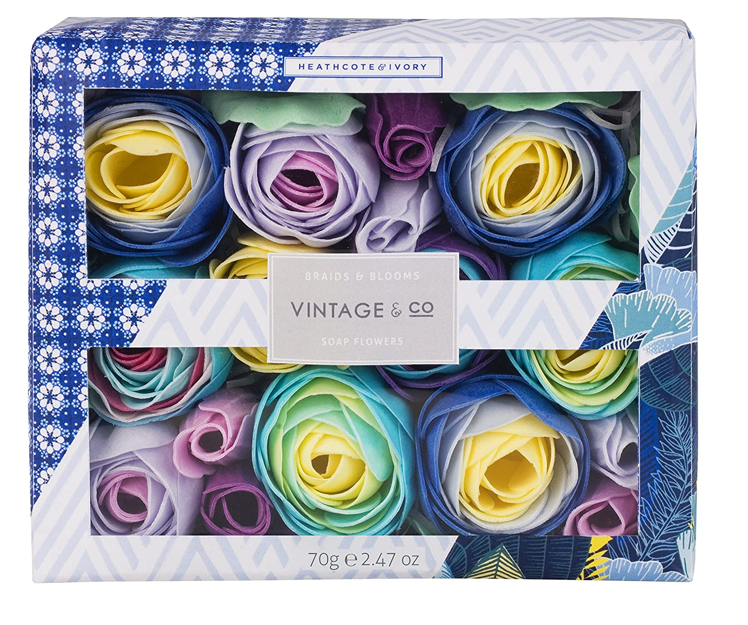 Vintage & Co Braids and Blooms Soap Flowers, 70 g Heathcote & Ivory FG5813