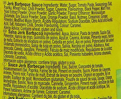 Amazon.com : Tropical Sun Jerk BBQ Sauce 285 g (Pack of 6) : Grocery & Gourmet Food