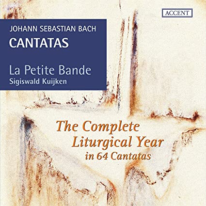 Cantatas For The Comeplete Liturgical Year: Bach, J.S./ La Petite Bande/  Kuijken: Amazon.it: Musica