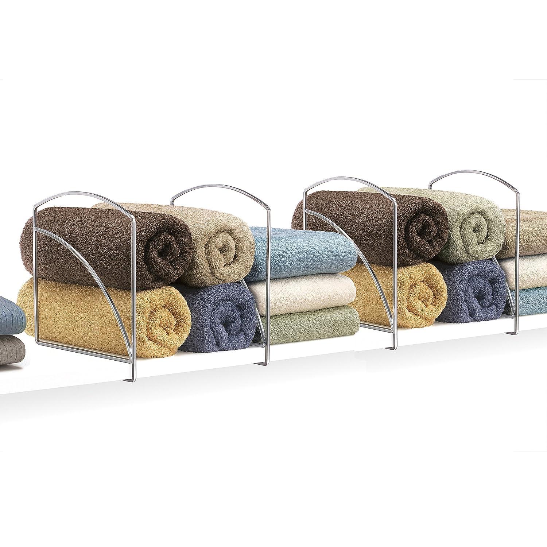 Lynk Vela Shelf Dividers - Closet Shelf Organizer (Set of 2) - Bronze 142060