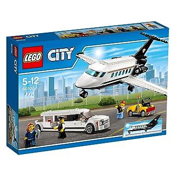 Lego City 60102 Flughafen Vip Service Bausteinspielzeug Amazon