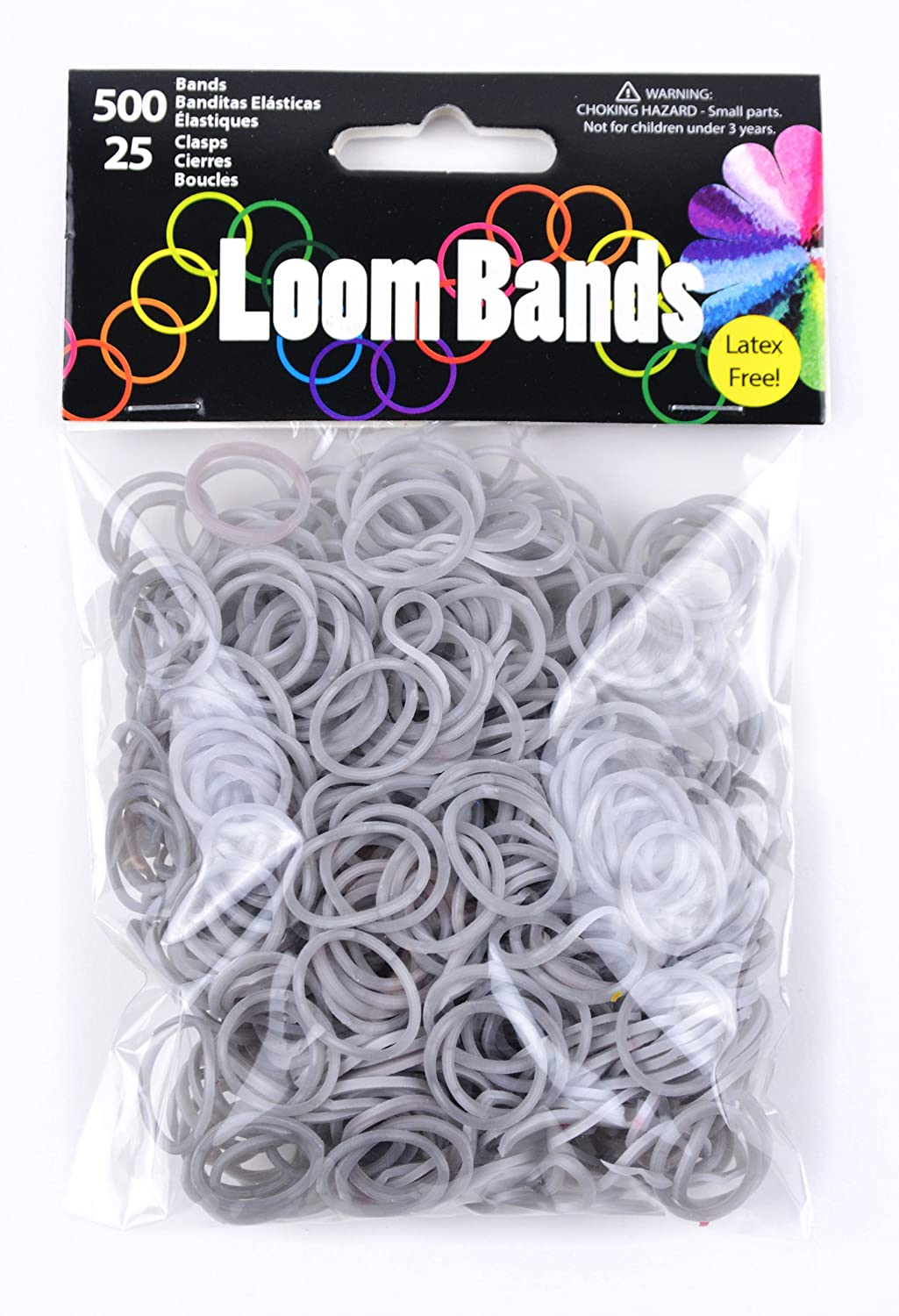 Touch of Nature 50623  Loom Bands, Silber