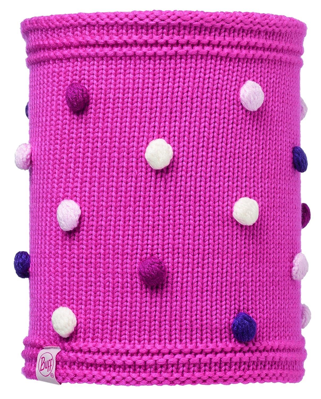 Original Buff Knitted & Polar Fleece Neckwarmer, Unisex Adulto, Gris S.A 113446.518.10.00