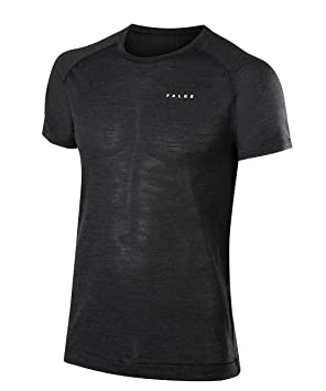 FALKE Calzoncillos Silk Lana Longsleeved Shirt Men – Ropa Interior Deportiva, Hombre, Underwear Silk