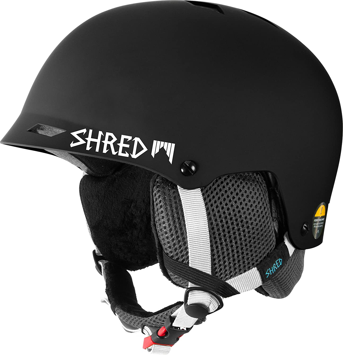 Amazon.com : Shred Ski Helmet, Snowboard Helmet, Half Brain Helmet, Half Shell, Shrasta, XS/M (52-56) : Sports & Outdoors