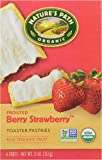 Nature's Path, Organic Toaster Pastries, Strawberry Frosted, 6 ct