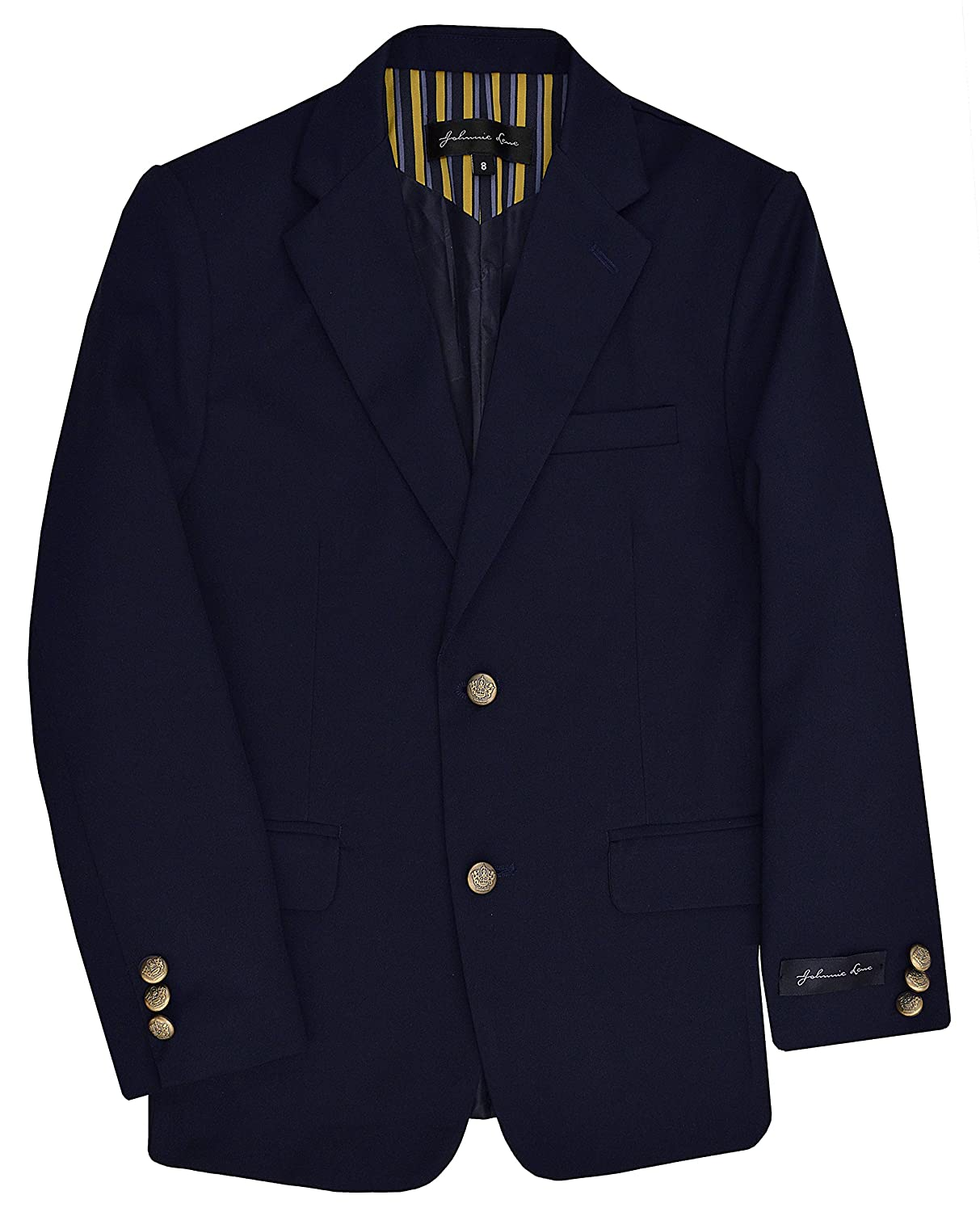 Johnnie Lene Dress Up Boys Blazer Jacket