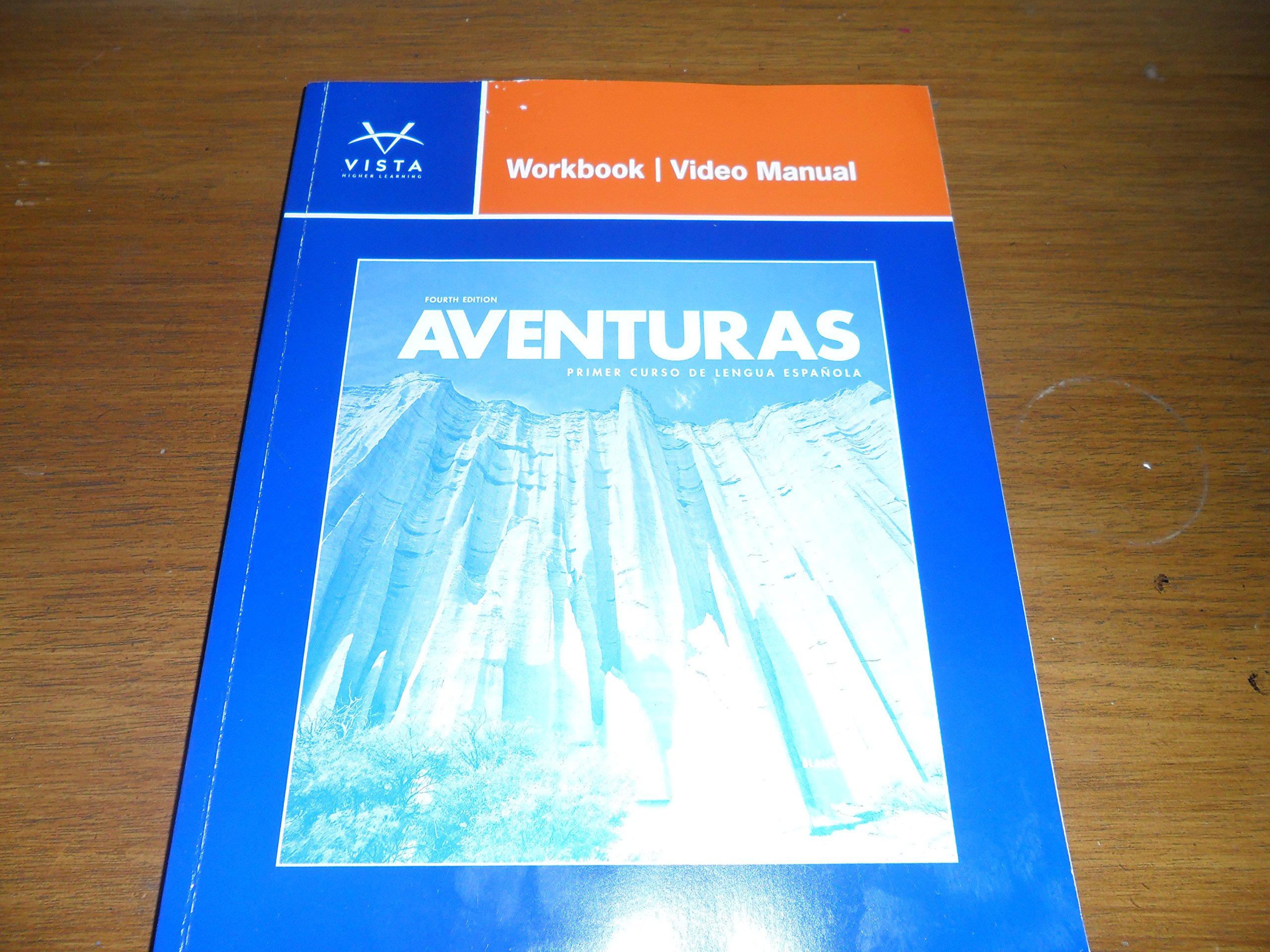 Aventuras workbookvideo manua vista higher learning 9781618570567 aventuras workbookvideo manua vista higher learning 9781618570567 amazon books fandeluxe Gallery