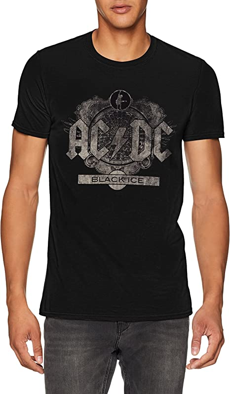 t shirt acdc homme