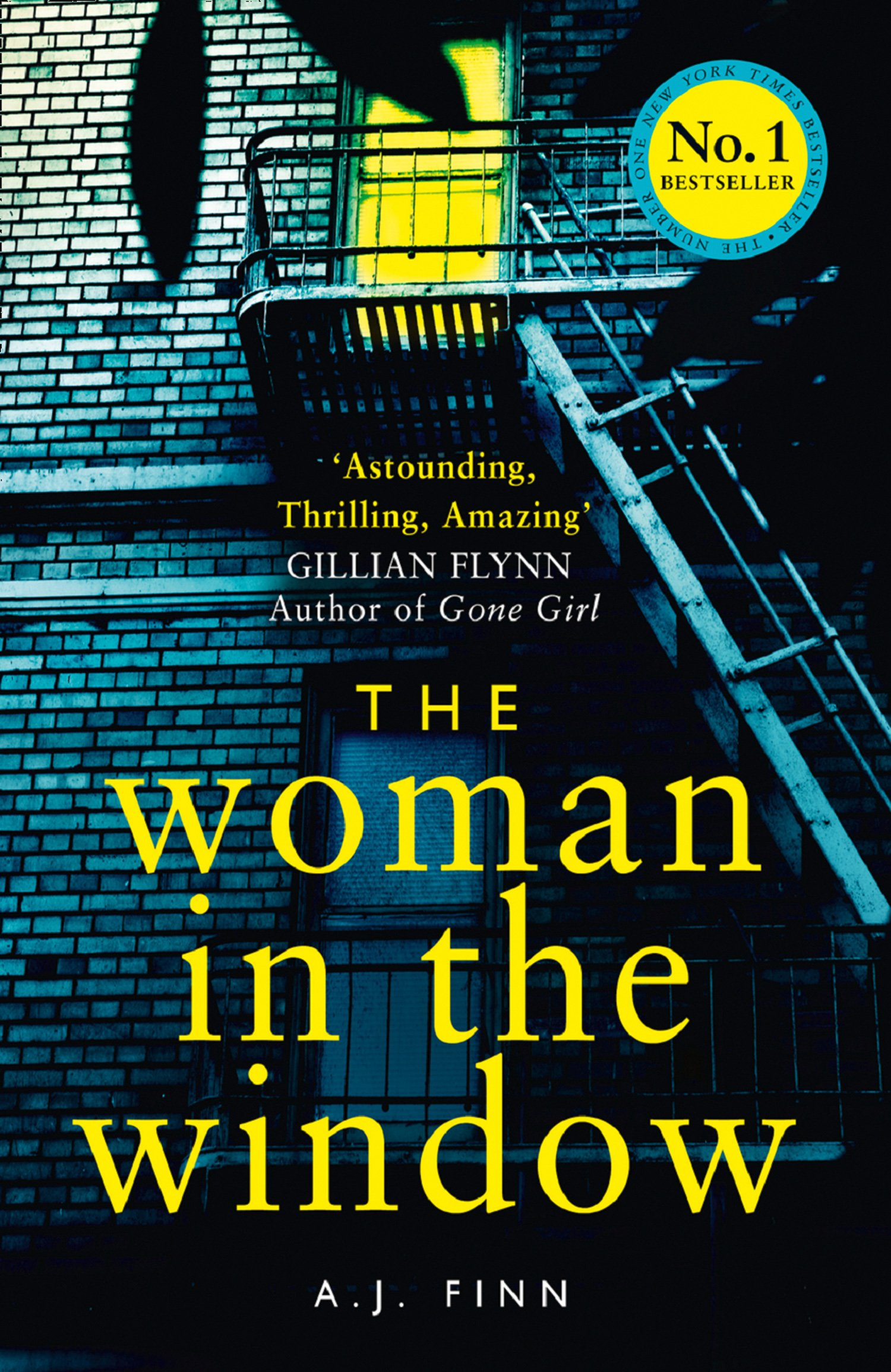 The Woman in the Window- Book Cover