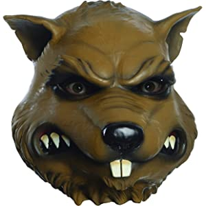 Amazon.com: Máscara de látex con cabeza de rata, para ...