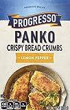 Progresso Panko Bread Crumbs, Lemon Pepper, 8 oz (Pack of 6)
