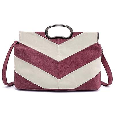 Canvas Shoulder Bag Retro Casual Handbags Messenger Bags
