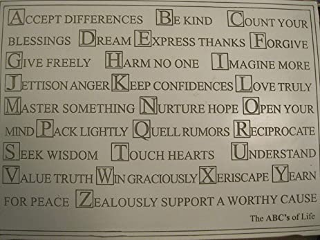 Image result for The ABCs of Life
