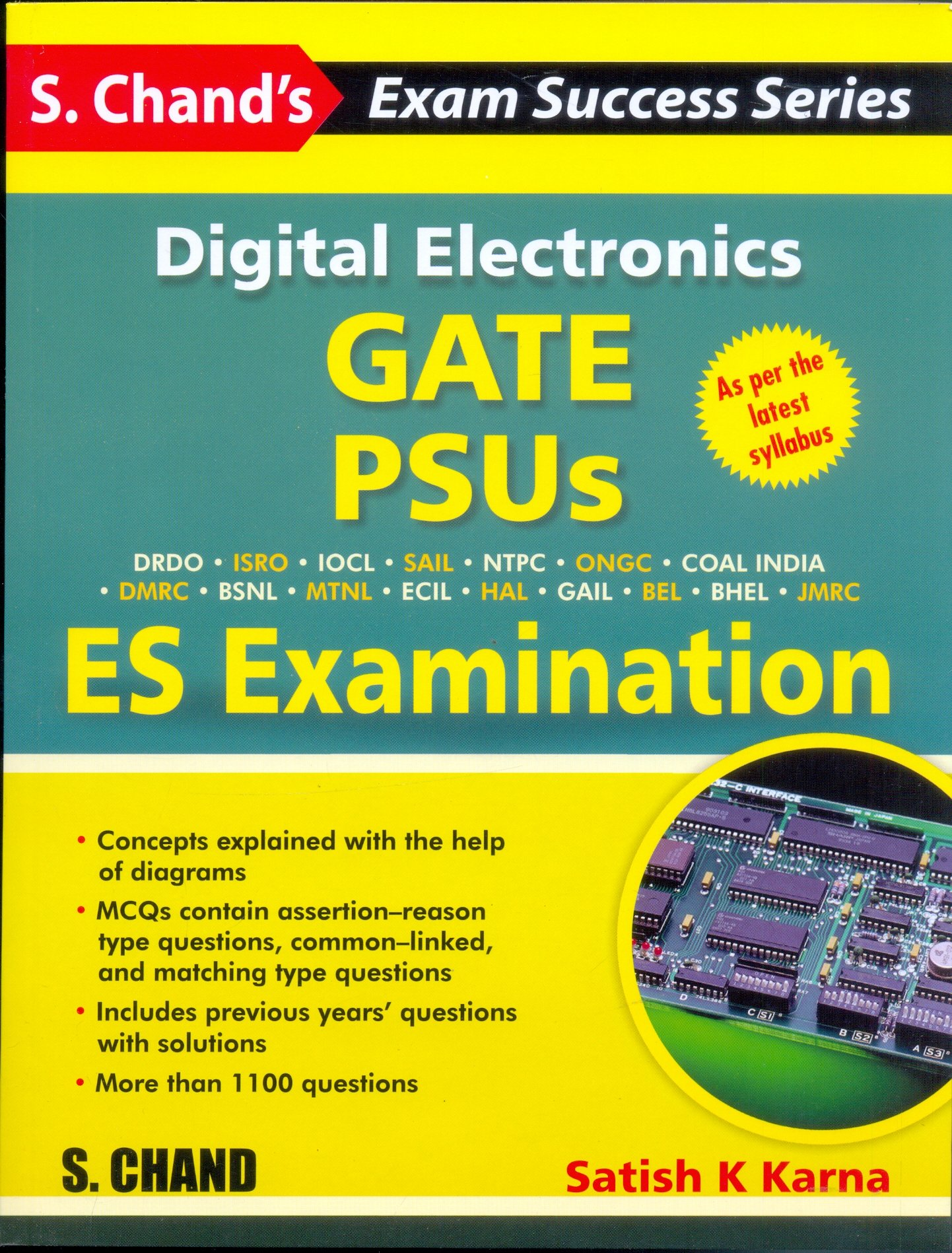 Buy Digital Electronics Gate Psus And Es Examination Book Online At Electronic Circuit Design Mcqs Low Prices In India Reviews