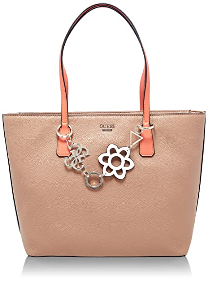 Guess - Bags Hobo, Shoppers y bolsos de hombro Mujer, Varios colores (Tan