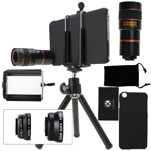 24 opinioni per Kit obiettivi per fotocamera per iPhone 6 Plus / 6S Plus include Lente 8x per