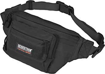 Seibertron Military Outdoor Casual Fanny Pack Bum Bag Riding Running Race Waist Bag Multi-Function Chest Bag Satchel