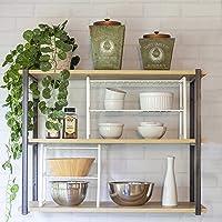 Organizador para Armário de Cozinha Kit 10, Metaltru, Branco com Branco