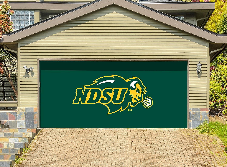 Victory隊7 ' x 16 ' Doubleガレージドア装飾North Dakota State Bison – NDSU B07B3YRGWH