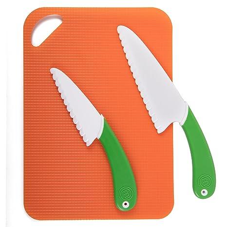 Amazon.com: MasterChef Junior cuchillo y tabla de cortar ...