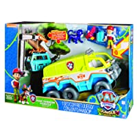 Paw Patrol : Jungle Rescue – Camion Tout-Terrain – Figurines & Vehicule de la Pat'Patrouille dans la Jungle