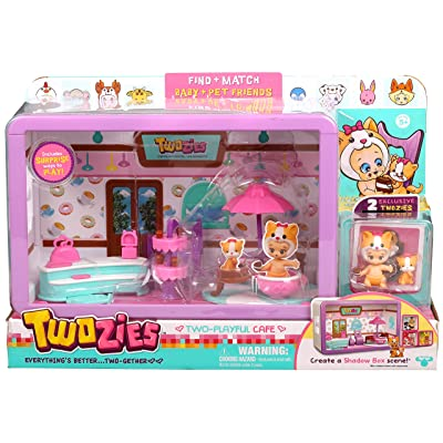 Twozies Cafe Playset: Toys & Games