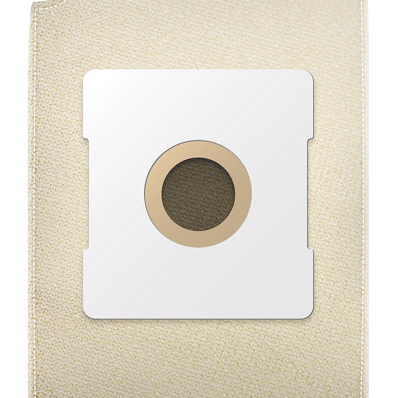 ✧WESSPER® Bolsa de aspiradora reutilizable para UFESA Mousy Argenta AT 7313 (1 pieza, Lienzo): Amazon.es: Hogar