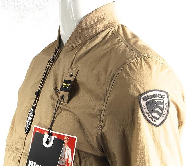 Blauer Herren Jacke beige beige XL: : Bekleidung