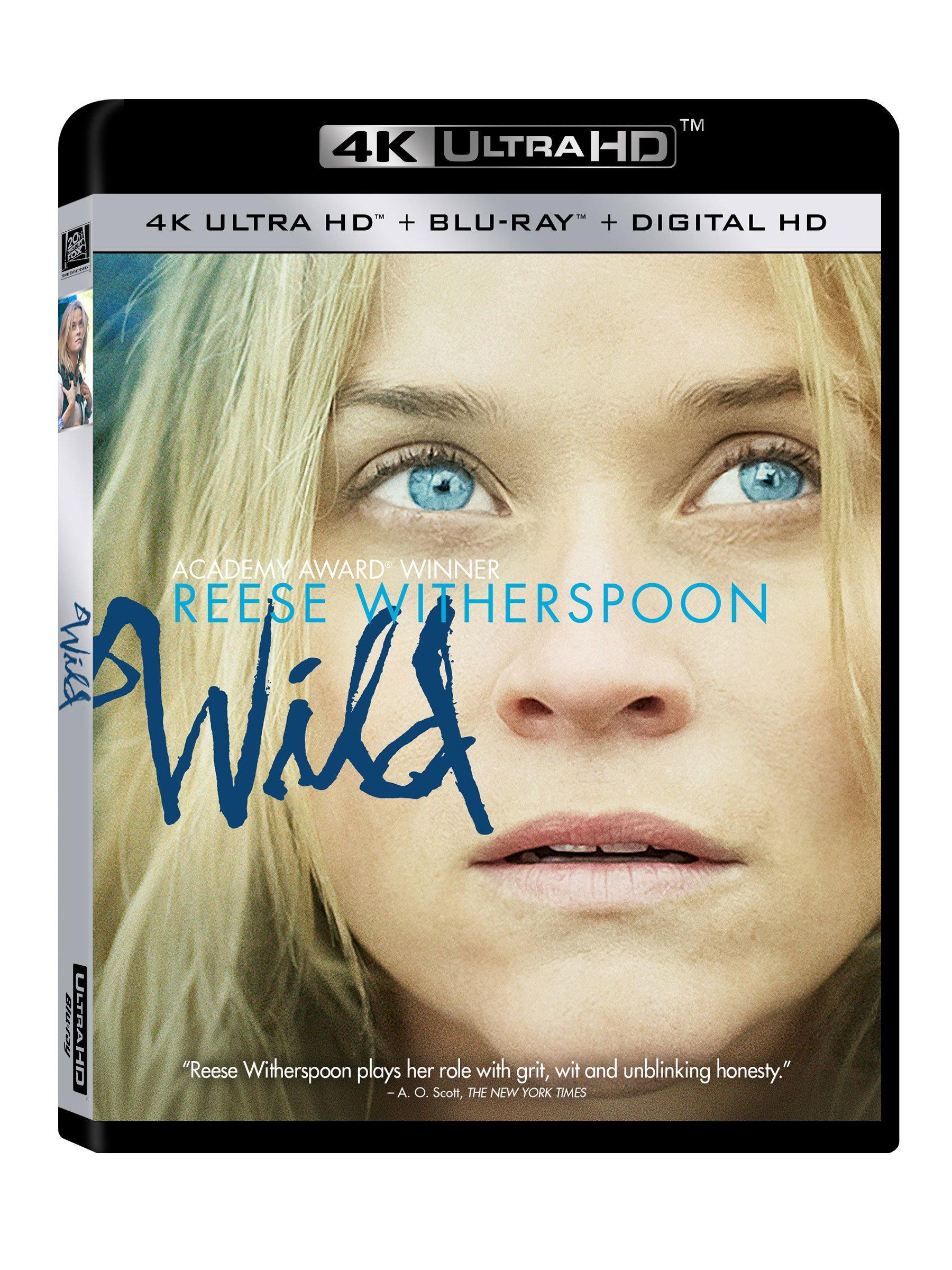 4K Blu-ray : Wild (Digitally Mastered in HD)