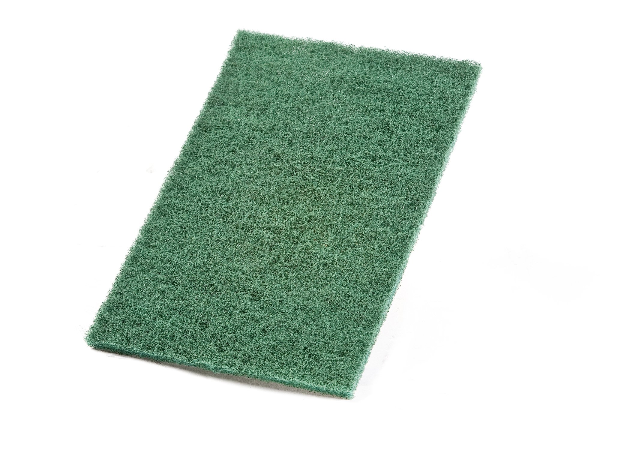 VSM Abrasive General Use Hand Pad, 6'' x 9'', Green (Pack of 10) by VSM