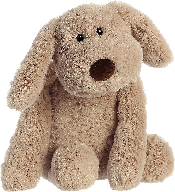 "Aurora - Huggle Buddies - 13"" Dexter The Huggable Dog Beige"