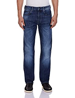 7599ee7b58 Amazon.com  G-Star Raw Men s Attack Low Straight-Fit Jean In Black ...