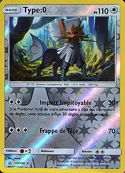 Carte Pokemon 115 156 Type 0 Amazon Fr Jeux Et Jouets