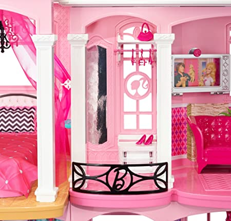 Amazon Com Barbie Dreamhouse Toys Games