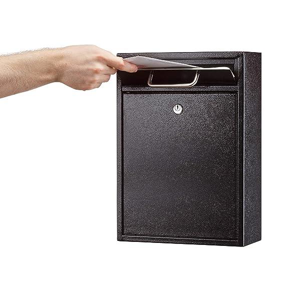 Amazon.com: AdirOffice contenedor con traba - Buzón ...