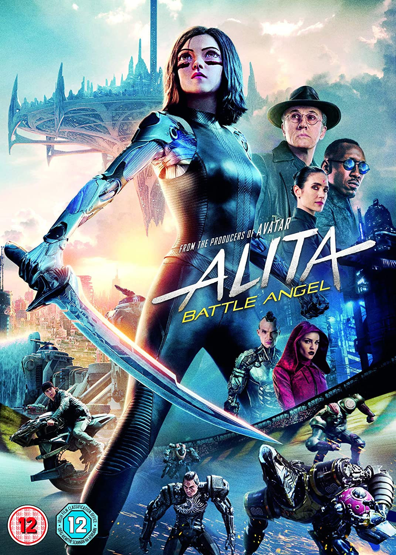 Alita Battle Angel Dvd 2019 Amazon Co Uk Dvd Blu Ray